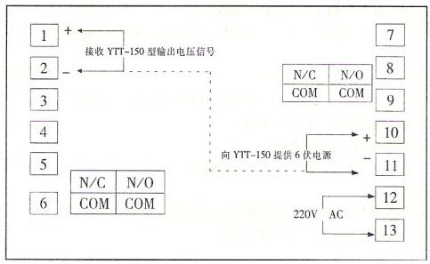 智能数字仪表端子接线图